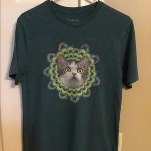 Here Kitty,graphic tee,Hybrid brand